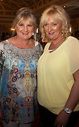 Mary Smyth and Ethel Ruane from Pat Smyths Fashions Gort  at A Vintage and Pre-Loved Fashion Extravaganza held in the Lady Gregory Hotel in Gort . A fundraising event organised by the Parents Council for Seamount's new pitch.  Photo:Andrew Downes