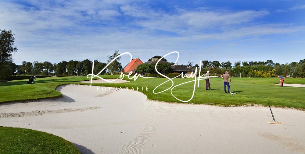 LEGEMEER - Clubhuis BurgGolf golfbaan St. Nicolaasga. COPYRIGHT KOEN SUYK