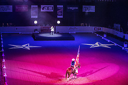 Opening Ceremony before Dressage Competition<br /> Longines FEI World Cup™ Dressage Final I<br /> Las Vegas 2015<br />  © Hippo Foto - Dirk Caremans<br /> 16/04/15