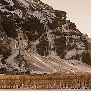 Ícefalls at Eyjafjöll, Iceland.