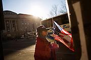 The day after the Inauguration of President Barack Obama. Washington DC, January 21, 2009.