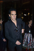 NICK CAVE, Alexander McQueen: Savage Beauty Gala, Victoria and Albert Museum, and A. 12th March 2015