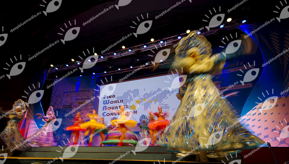 II FINA World Aquatics Convention<br /> Moscow Russia oct. 30th, Nov. 1st, 2012<br /> Opening Oct. 30th<br /> Photo G.Scala/Deepbluemedia/Insidephoto