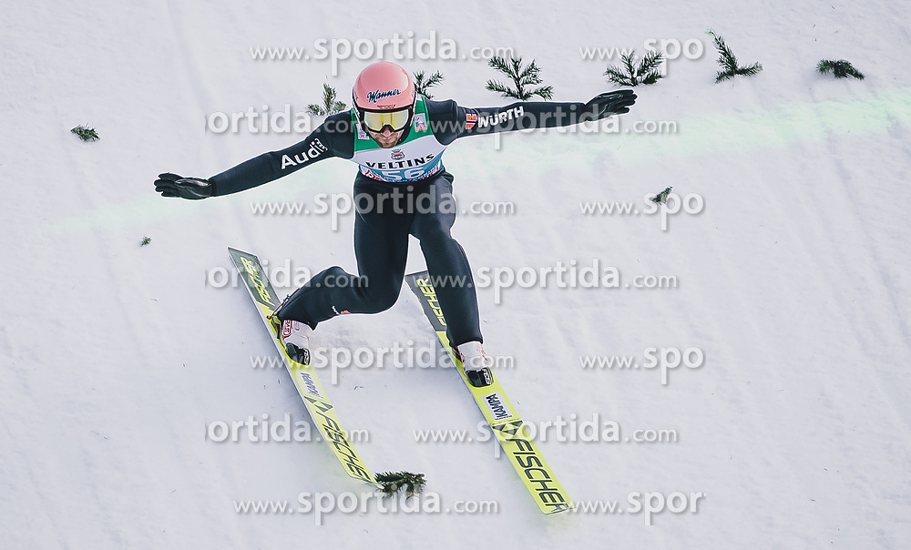 31.12.2019, Olympiaschanze, Garmisch Partenkirchen, GER, FIS Weltcup Skisprung, Vierschanzentournee, Garmisch Partenkirchen, Qualifikation, im Bild Pius Paschke (GER) // Pius Paschke of Germany during his qualification Jump for the Four Hills Tournament of FIS Ski Jumping World Cup at the Olympiaschanze in Garmisch Partenkirchen, Germany on 2019/12/31. EXPA Pictures © 2019, PhotoCredit: EXPA/ JFK