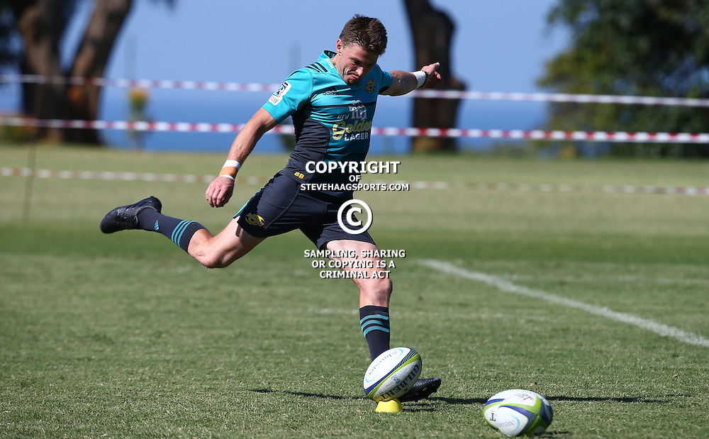 DURBAN, SOUTH AFRICA, 5, May 2016 - Beauden Barrett during the Hurricanes training session held at Northwood School Durban North , (Photographer Steve Haag) <br /> <br /> Images for social media must have consent from Steve Haag