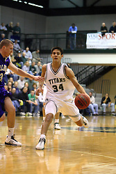 30 December 2006: Jason Bloom. The Titans outscored the Britons by a score of 94-80. The Britons of Albion College visited the Illinois Wesleyan Titans at the Shirk Center in Bloomington Illinois.<br />