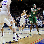 STORRS, CONNECTICUT- NOVEMBER 17: Kalani Brown #21 of the Baylor Bears in action during the UConn Huskies Vs Baylor Bears NCAA Women's Basketball game at Gampel Pavilion, on November 17th, 2016 in Storrs, Connecticut. (Photo by Tim Clayton/Corbis via Getty Images)