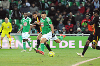 Goal Mevlut ERDING  - 06.02.2015 - Saint Etienne / Lens - 24eme journee de Ligue 1 -<br /> Photo : Jean Paul Thomas / Icon Sport