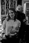CATHERINE HAMILTON, The Walter Scott Prize for Historical Fiction 2015 - The Duke of Buccleuch hosts party to for the shortlist announcement. <br /> The winner is announced at the Borders Book Festival in Scotland in June.John Murray's Historic Rooms, 50 Albemarle Street, London, 24 March 2015.