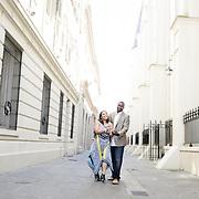 JD & Rosita Engagement Album Audobon Park French Quarter, Bourbon Street, 2014, | 1216 Studio New Orleans Wedding Photography