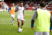 Reading Defender Liam Moore (6) warms up before kick off during the EFL Sky Bet Championship match between Brentford and Reading at Griffin Park, London, England on 16 September 2017. Photo by Andy Walter.