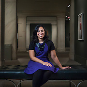Leslie Ureña, assistant curator of photographs, National Portrait Gallery, Washington, D.C.