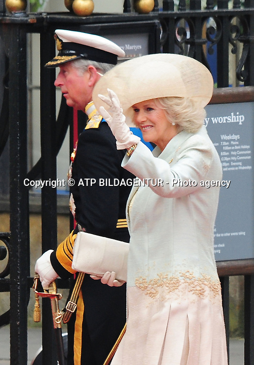 Prince Philip and Camilla Duchess of Cornwall<br />