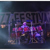 Torino Jazz Festival concerto di Billy Cobham in Piazza Castello..Turin Jazz Festival concert in Piazza Castello Billy Cobham