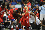 Ole Miss vs. Florida in the SEC championship game at Bridgestone Arena in Nashville, Tenn. on Sunday, March 17, 2013.