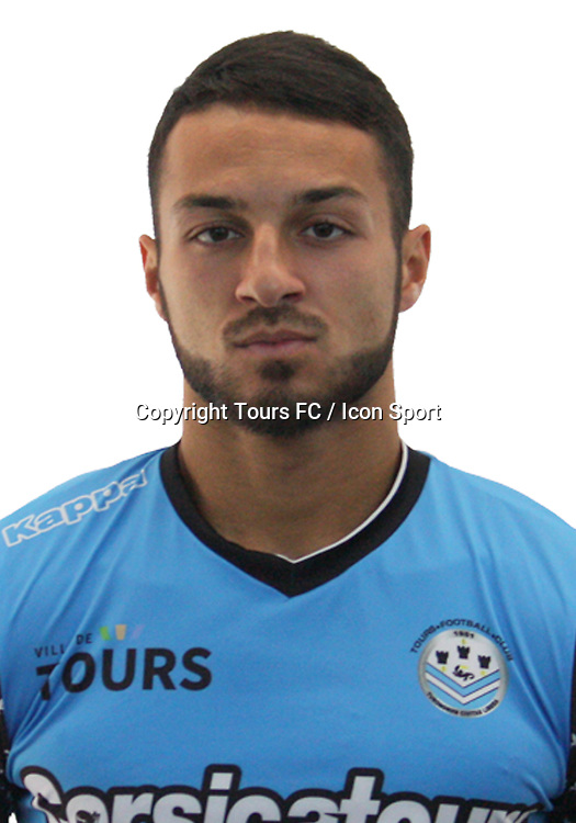 Haris Belkebla during the during photoshooting of Tours FC for new season 2017/2018 on October 5, 2017 in Tours, France<br /> Photo : Tours FC / Icon Sport
