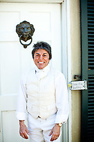 Rita Mae Brown at her home at Tea-Time Farm, in Afton, VA on March 30, 2010..CREDIT: Stephen Voss for The Wall Street Journal.BROWN