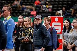 TEBBEL Justine (GER)<br /> Leipzig - Partner Pferd 2020<br /> Parcoursbesichtigung<br /> Championat von Leipzig<br /> Springprfg. mit Stechen, international<br /> Höhe: 1.50 m<br /> 18. Januar 2020<br /> © www.sportfotos-lafrentz.de/Stefan Lafrentz