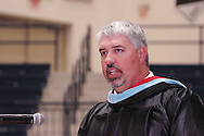 Alter dean of students Scott Balent speaks during the 47th commencement excercise of Archbishop Alter High School at Trent Arena in Kettering, Saturday, May 26, 2012.