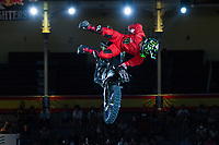 Japaneese Fmx rider Taka Higashino during qualifying Red Bull X-Fighters 2016 at Madrid. 22,06,2016. (ALTERPHOTOS/Rodrigo Jimenez)