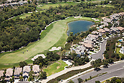 Aerial of Coto de Caza Golf Course and Homes