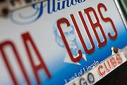 """Da Cubs"" liscense plate"