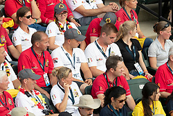 Opening ceremony, Team Belgium<br /> World Equestrian Games - Tryon 2018<br /> © Hippo Foto - Dirk Caremans<br /> 11/09/2018