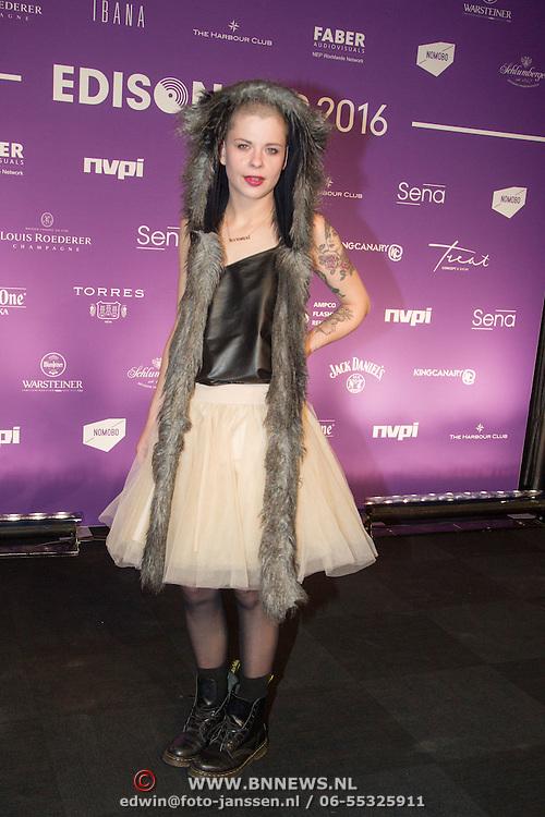 NLD/Amsterdam/20160321 - Edison Pop Awards 2016
