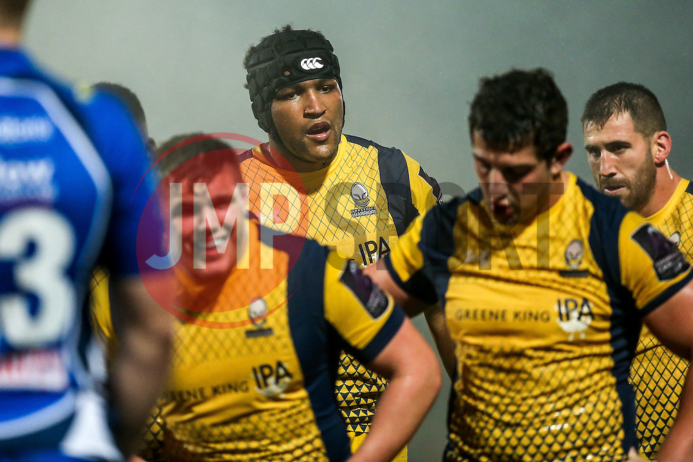 Christian Scotland-Williamson of Worcester Warriors looks on - Rogan Thomson/JMP - 10/12/2016 - RUGBY UNION - Sixways Stadium - Worcester, England - Worcester Warriors v Newport Gwent Dragons - European Rugby Challenge Cup.