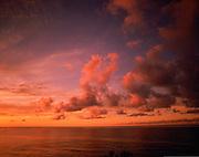 Sunset, Ocean<br />