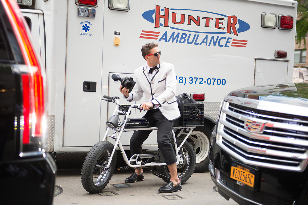 Ambulance Chaser? Outside the Met Ball 2018