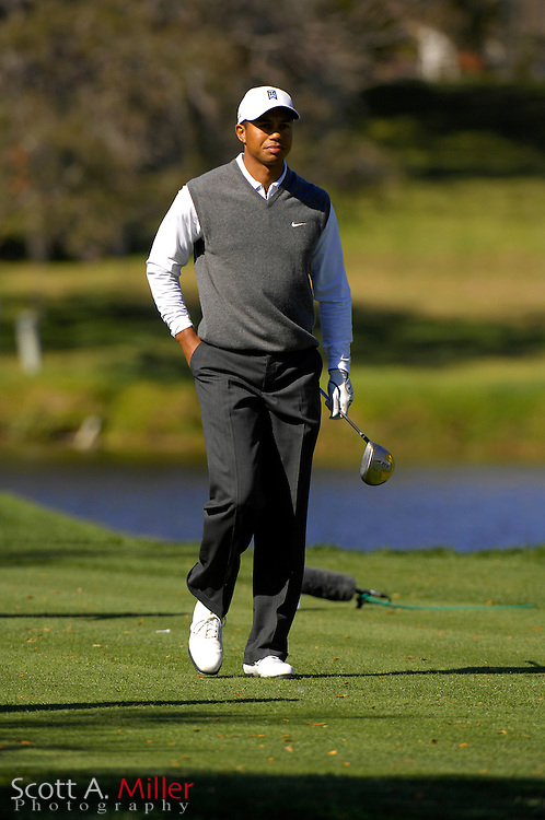 Tiger Woods in action during the Arnold Palmer Invitational at Bay Hill Club and Lodge  on March 17, 2007 in Orlando, Florida...© 2007 Scott A. Miller