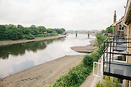 by the river thames in barnes, london
