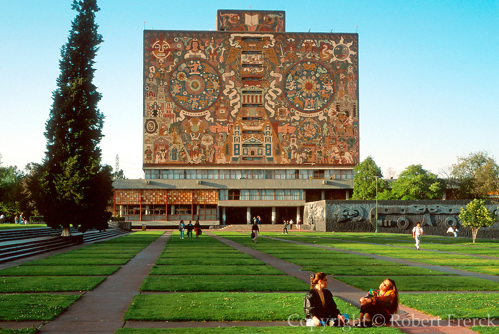 MEXICO, EDUCATION National University library