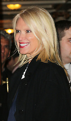 Anneka Rice, Strangers On A Train - press night, Gielgud Theatre, London UK, 19 November 2013, Photo by Richard Goldschmidt © Licensed to London News Pictures. {date} Photo credit : Richard Goldschmidt/Piqtured/LNP