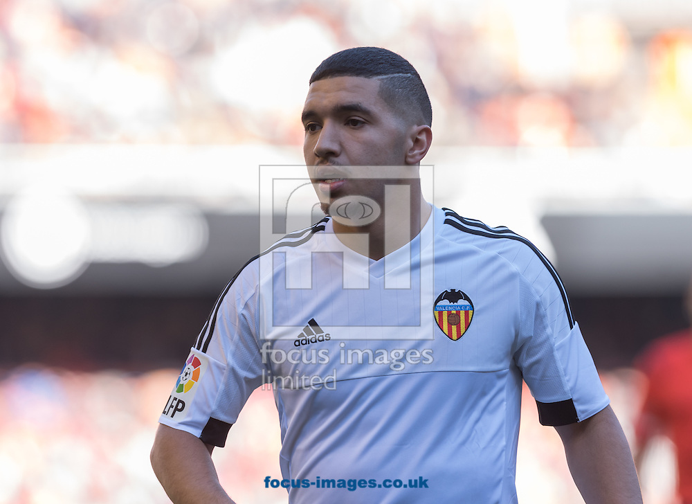 Zakaria Bakali of Valencia Club de Futbol during the La Liga match at Mestalla, Valencia<br /> Picture by Maria Jose Segovia/Focus Images Ltd +34 660052291<br /> 17/01/2016