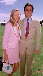 MISS KATRINA SKEPPER former good friend of the Duke of York and her fiancee COUNT ALLESANDRO GUERRINI-MARALDI, at a polo match in Berkshire on 27th July 1997.MAR 79