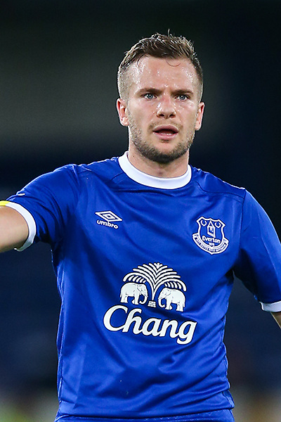 Tom Cleverley of Everton