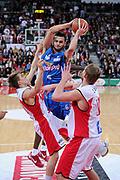 DESCRIZIONE : Pesaro Lega A 2011-12 Scavolini Siviglia Pesaro Novipiu Casale Monferrato<br /> GIOCATORE : Stefano Gentile<br /> CATEGORIA : tiro penetrazione<br /> SQUADRA : Novipiu Casale Monferrato<br /> EVENTO : Campionato Lega A 2011-2012<br /> GARA : Scavolini Siviglia Pesaro Novipiu Casale Monferrato<br /> DATA : 15/01/2012<br /> SPORT : Pallacanestro<br /> AUTORE : Agenzia Ciamillo-Castoria/C.De Massis<br /> Galleria : Lega Basket A 2011-2012<br /> Fotonotizia : Pesaro Lega A 2011-12 Scavolini Siviglia Pesaro Novipiu Casale Monferrato<br /> Predefinita :