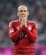 Fussball Bundesliga 2011/12: FC Bayern Muenchen - FSV Mainz 05