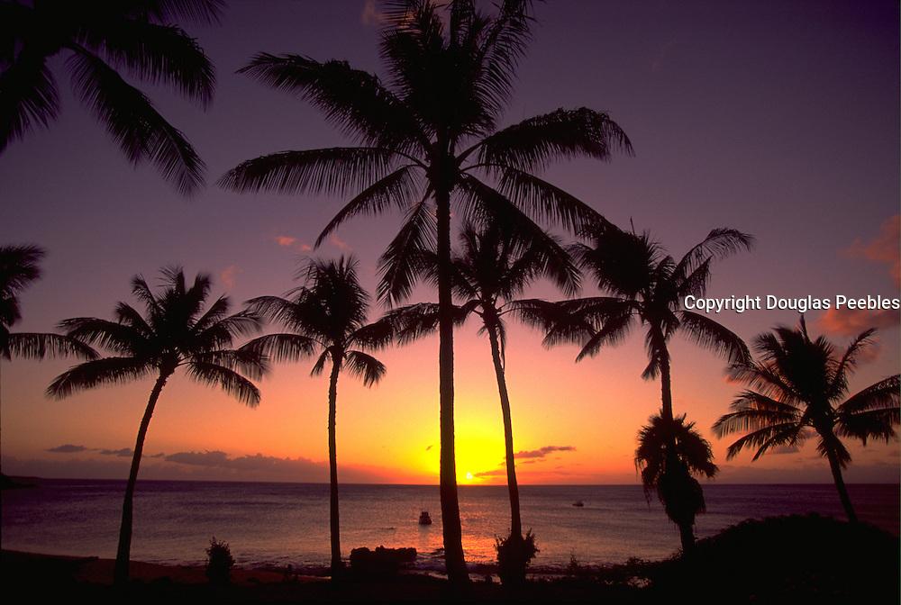Sunset, Kapalua, Maui, Hawaii, USA<br />