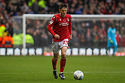 Joe Lolley of Nottingham Forest during the EFL Sky Bet Championship match between Nottingham Forest and Derby County at the City Ground, Nottingham, England on 9 November 2019.