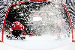 Fabian Weinhandl of Austria during the ice-hockey match between Austria and Slovenia of Group G in Relegation Round of IIHF 2011 World Championship Slovakia, on May 7, 2011 in Orange Arena, Bratislava, Slovakia (Photo by Matic Klansek Velej, Vid Ponikvar / Sportida)