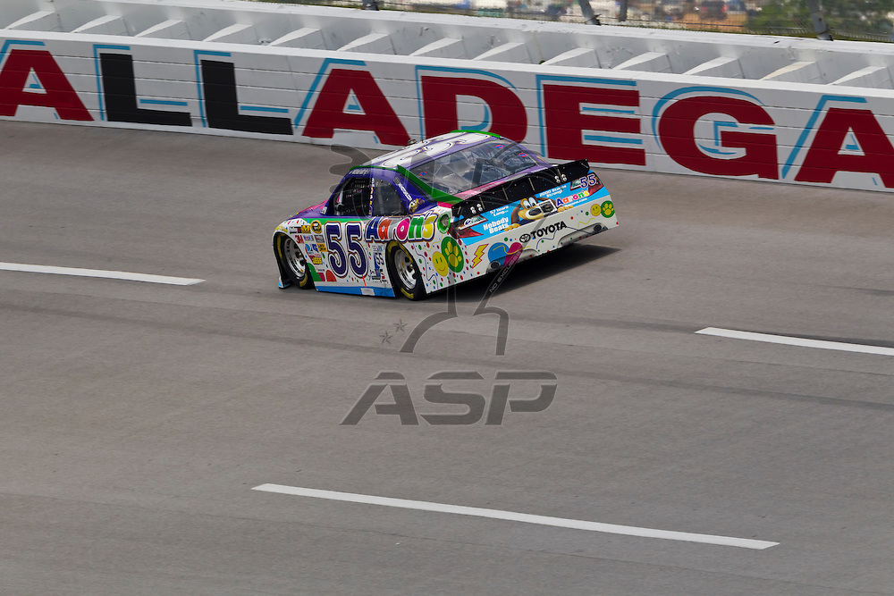 TALLADEGA, AL - MAY 05, 2012:  The NASCAR Sprint Cup teams qualify for the Aaron's 499 at the Talladega Superspeedway in Talladega, AL.