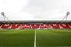A general view of the AESSEAL New York Stadium, home to Rotherham United - Mandatory by-line: Ryan Crockett/JMP - 30/03/2018 - FOOTBALL - Aesseal New York Stadium - Rotherham, England - Rotherham United v Peterborough United - Sky Bet League One