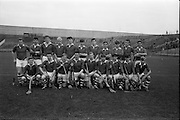 16/10/1966<br /> 10/16/1966<br /> 16 October 1966<br /> Oireachtas Minor Final: Cork v Wexford at Croke Park, Dublin. <br /> The Cork team (the winners of the match).
