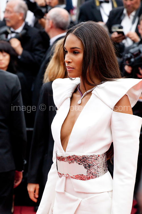 Cindy Bruna at the La Belle Epoque gala screening at the 72nd Cannes Film Festival Monday 20th May 2019, Cannes, France. Photo credit: Doreen Kennedy