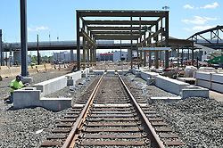 New Haven Rail Yard, Independent Wheel True Facility. CT-DOT Project # 0300-0139, New Haven CT.<br /> Photograph of Construction Progress Photo Shoot 23 on 4 June 2013. One of 56 Images Captured this Submission.