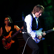 """July 20, 2016 - New York, NY : The English rock guitarist Geoffrey Arnold """"Jeff"""" Beck performs at The Theater at Madison Square Garden on Wednesday evening. CREDIT: Karsten Moran for The New York Times"""