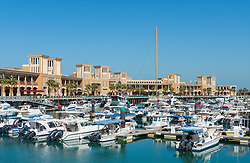 Marina at Souq Sharq shopping mall in Kuwait City, Kuwait